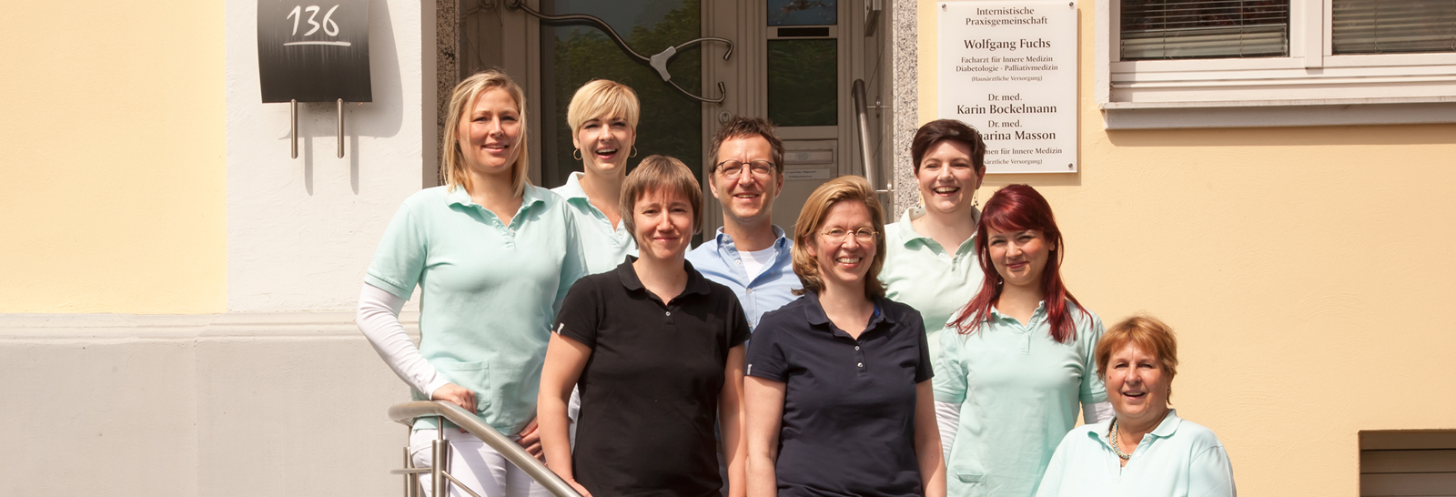 Team der Arztpraxis Aachen Haaren